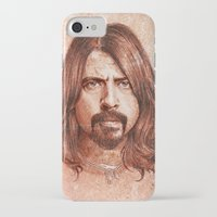 dave grohl iPhone & iPod Cases featuring Dave Grohl by Renato Cunha