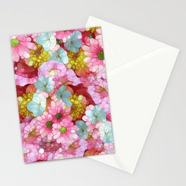 Morning Glory too Stationery Cards