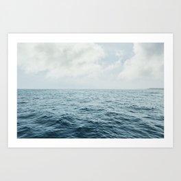 Vitamin Sea by Audrey Amelie Art Print