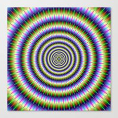 Optically Challenging Rings Canvas Print