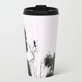 Black Bird Travel Mug