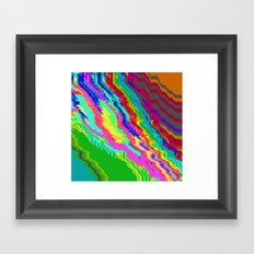 I Think She Knows Framed Art Print