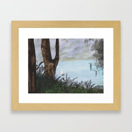Water Sprite Framed Art Print