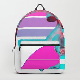 Aesthetic Grunge Venus Skeleton Vaporwave Halloween Design design Backpack
