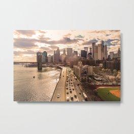 New York City, NY Metal Print