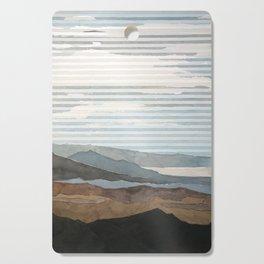 Salton Sea Landscape Cutting Board