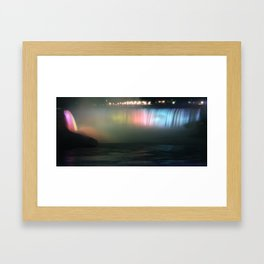 Horseshoe Falls Framed Art Print