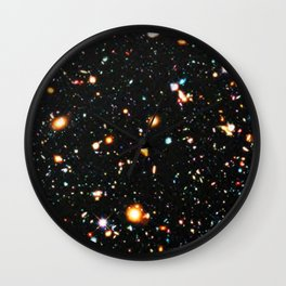 Hubble Extreme Deep Field High Resolution Wall Clock