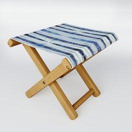 Nori Blue Folding Stool