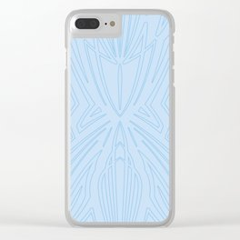 Pinstripe Pattern Creation XI Clear iPhone Case