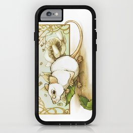 Wise Old Mouse iPhone Case