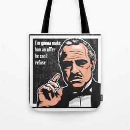 Vito Corleone Tote Bag