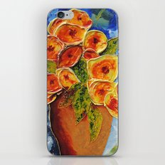 Lively garden | Jardin animé iPhone & iPod Skin