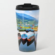 Canoe Lake II Metal Travel Mug