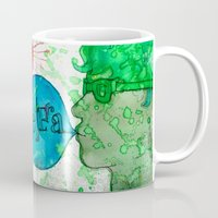 et Mugs featuring Et Cetera by Art by Kaitlyn Alyse