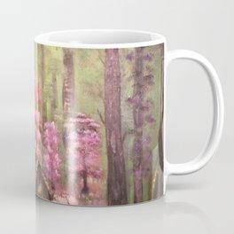 Enchanted cabin in the woods Coffee Mug