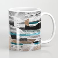 surf Mugs featuring surf by MK0S