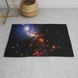 Cosmic Stellar Sparklers Rug