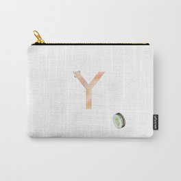 Y is for yoyo - Letter Y Monogram Carry-All Pouch
