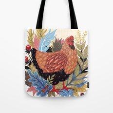 Spring Chicken Tote Bag