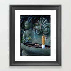 A Watchful Eye Framed Art Print