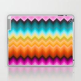 Chevron design fashion 90s Laptop & iPad Skin