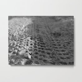 Tread 2015 B/W Metal Print
