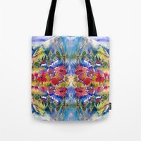 africa Tote Bags featuring Africa by CrismanArt