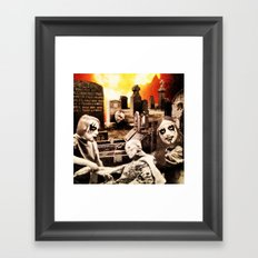 From Entombed to Exhumed Framed Art Print