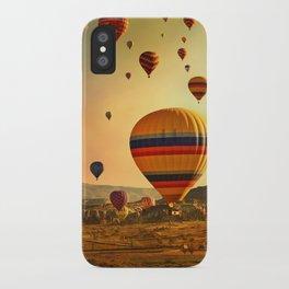 Sunrise in Cappadocia iPhone Case