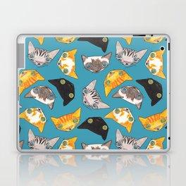 """Oro?"" Cats-Teal Laptop & iPad Skin"
