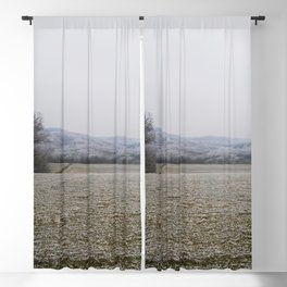 Fields of Snow Blackout Curtain