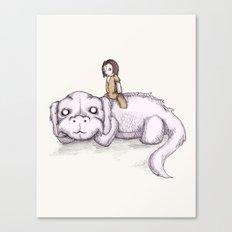 Plushie Luck Dragon Canvas Print