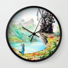 """""""Into my dreams"""" Wall Clock"""