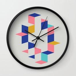 Cubed II Wall Clock
