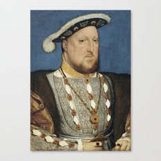 Portrait of Henry VIII of England by Hans Holbein Canvas Print