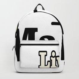 Lives Matter Backpack