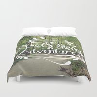 adventure Duvet Covers featuring Adventure by Hugh & West