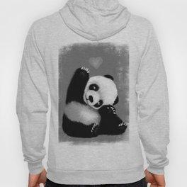 Panda Love (Monochrome) Hoody