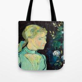 Vincent van Gogh - Adeline Ravoux 1890 Tote Bag