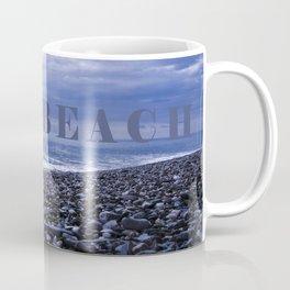 BLUE BEACH of SICILY Coffee Mug