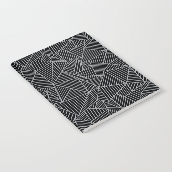 Ab 2 R Black and Grey Notebook