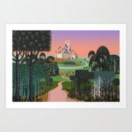 Dream for a Castle Art Print