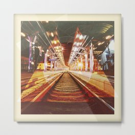 Tangled illustration Station Metal Print