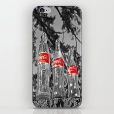 Classic soda bottles iPhone & iPod Skin