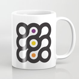 Circles 3x3 #6 Coffee Mug