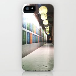 Contemplation in the Mosque Gallery iPhone Case