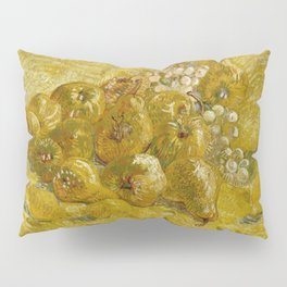 Quinces, Lemons, Pears and Grapes by Vincent van Gogh Pillow Sham