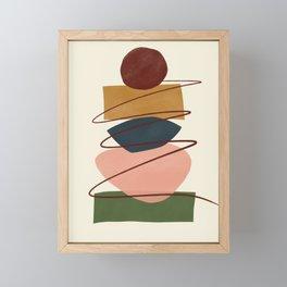 Mid-Century Modern Art # 75 Framed Mini Art Print