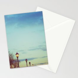 An afternoon walk Stationery Cards